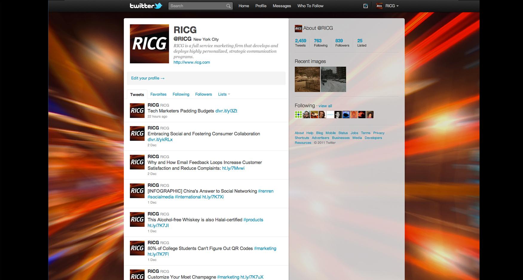 11 RICG Twitter1 - RICG - SOCIAL MEDIA