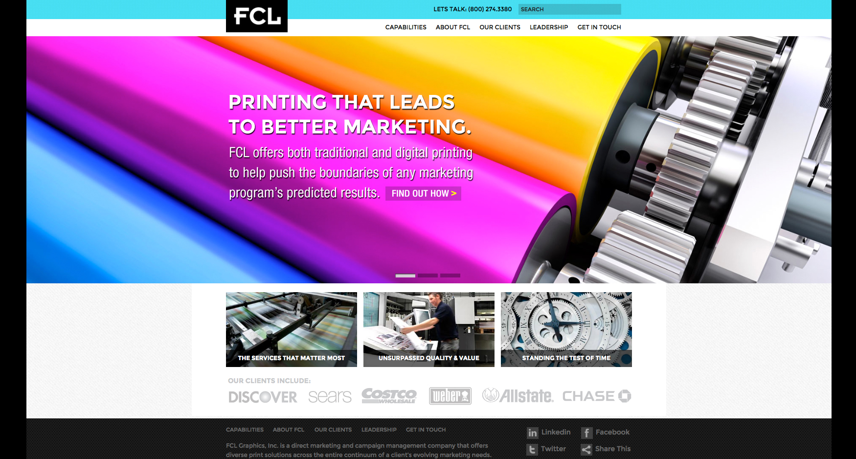 1 FCL Homepage 1 - FCL GRAPHICS - CORPORATE WEBSITE