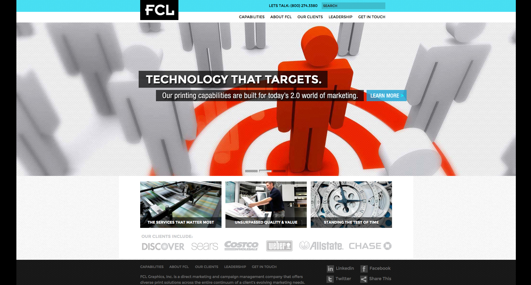 2 FCL Homepage 2 - FCL GRAPHICS - CORPORATE WEBSITE