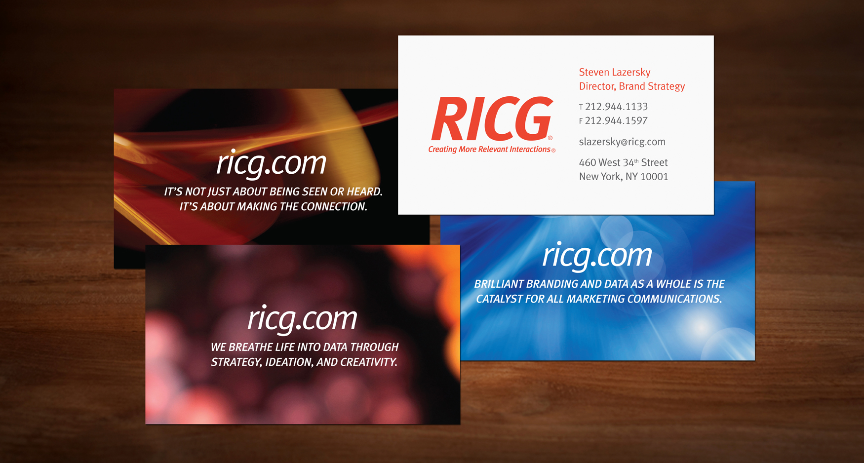 2 RICG Cards - RICG - STATIONERY