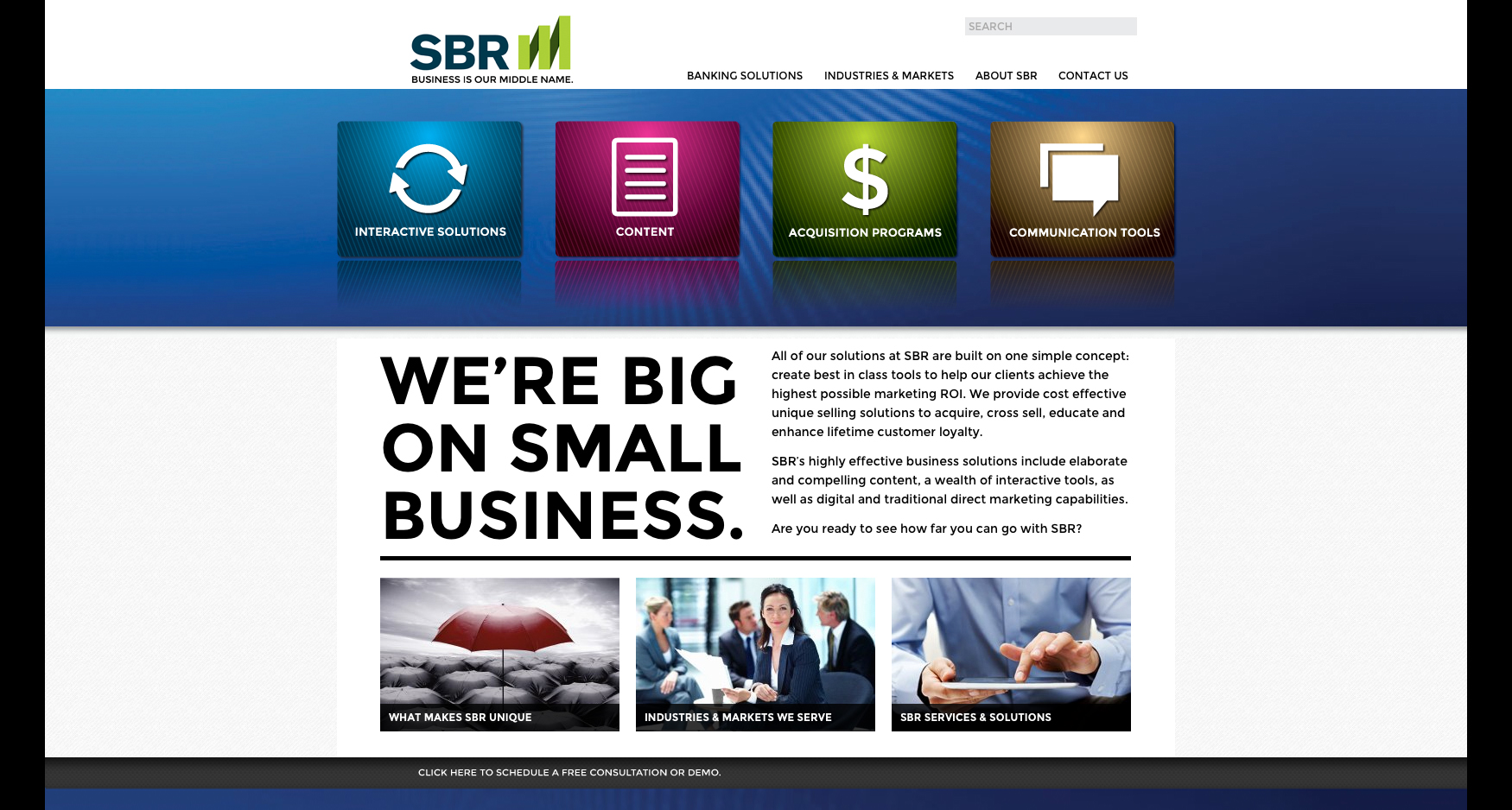 3 SBR Homepage - SBR - WEBSITE