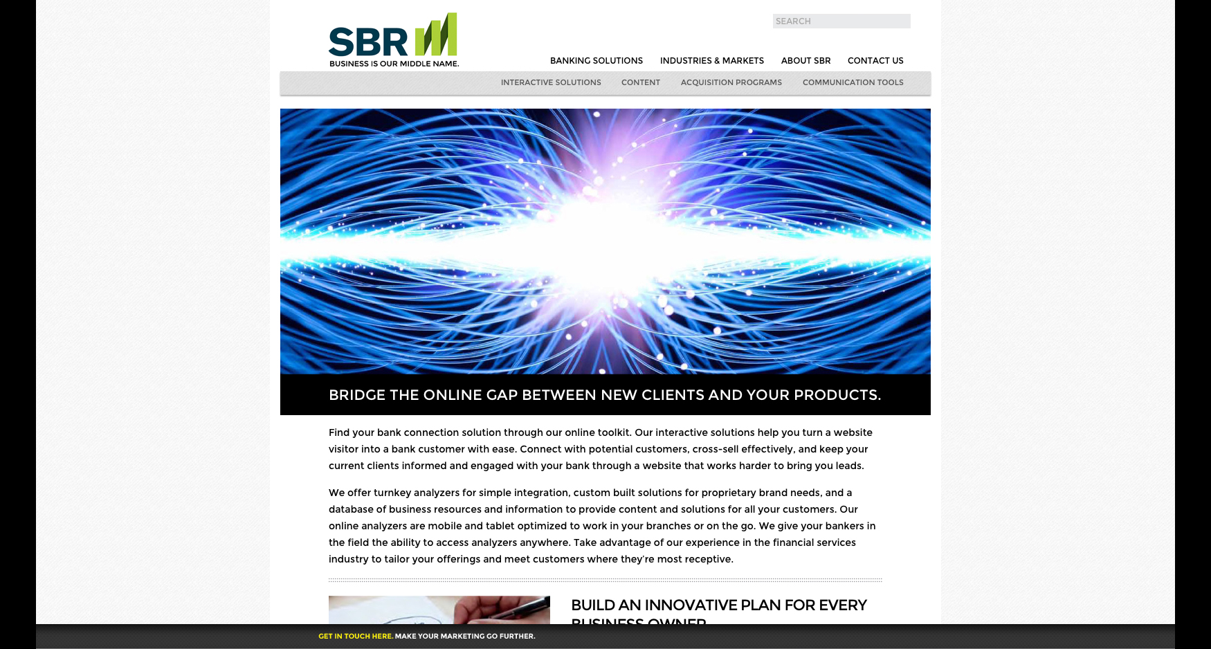6 SBR Interactive - SBR - WEBSITE