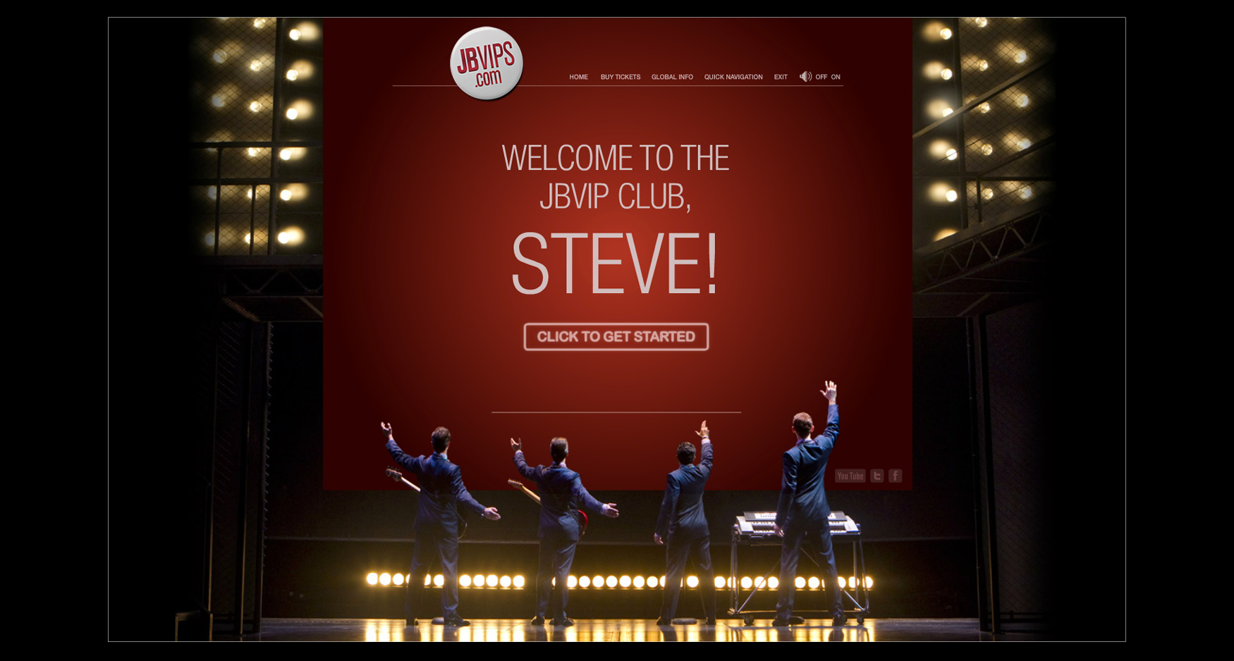 BP Large Images39 - JERSEY BOYS - PERSONALIZED WELCOME SCREEN