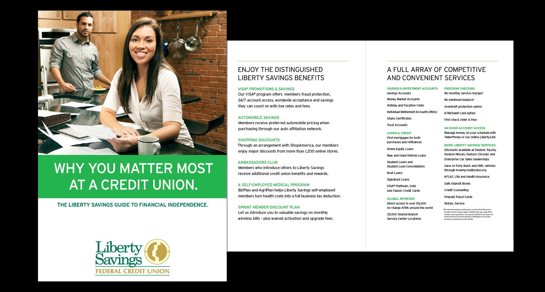 Benefits Brochure1 - LIBERTY SAVINGS - BENEFITS BROCHURE