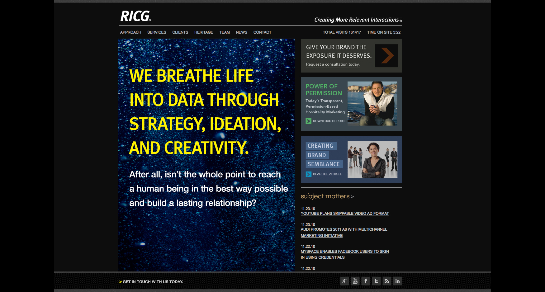 Breath Life - RICG - CORPORATE WEBSITE