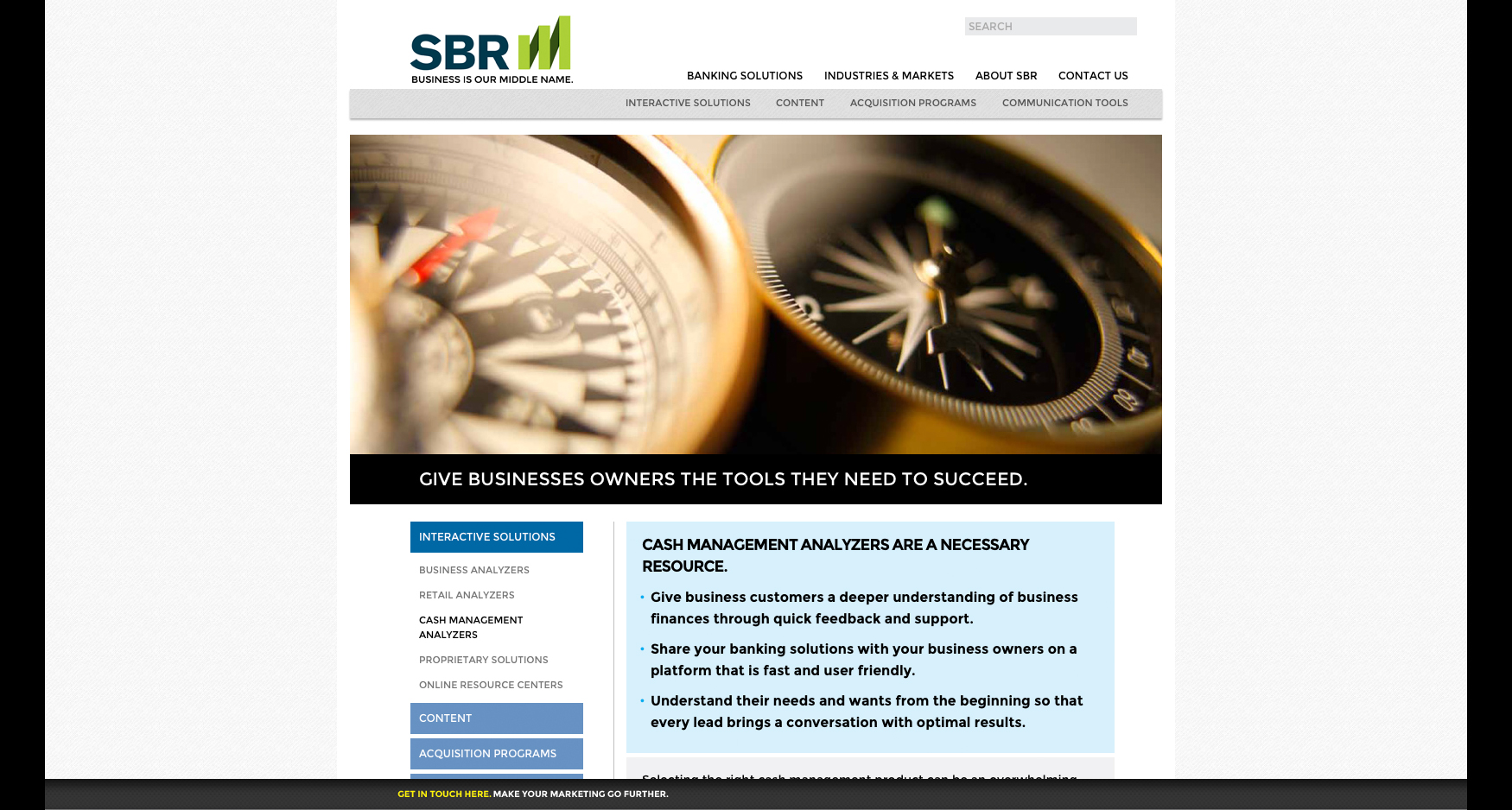 SBR Compass - SBR - WEBSITE