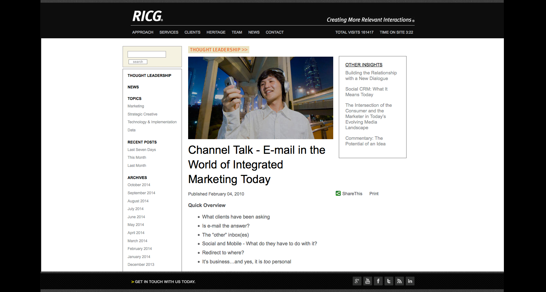 news 1 - RICG - CORPORATE WEBSITE