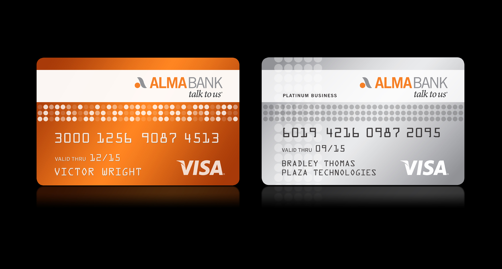 Alma Credit Cards1 - ALMA BANK - CONSUMER & CORPORATE CREDIT CARDS