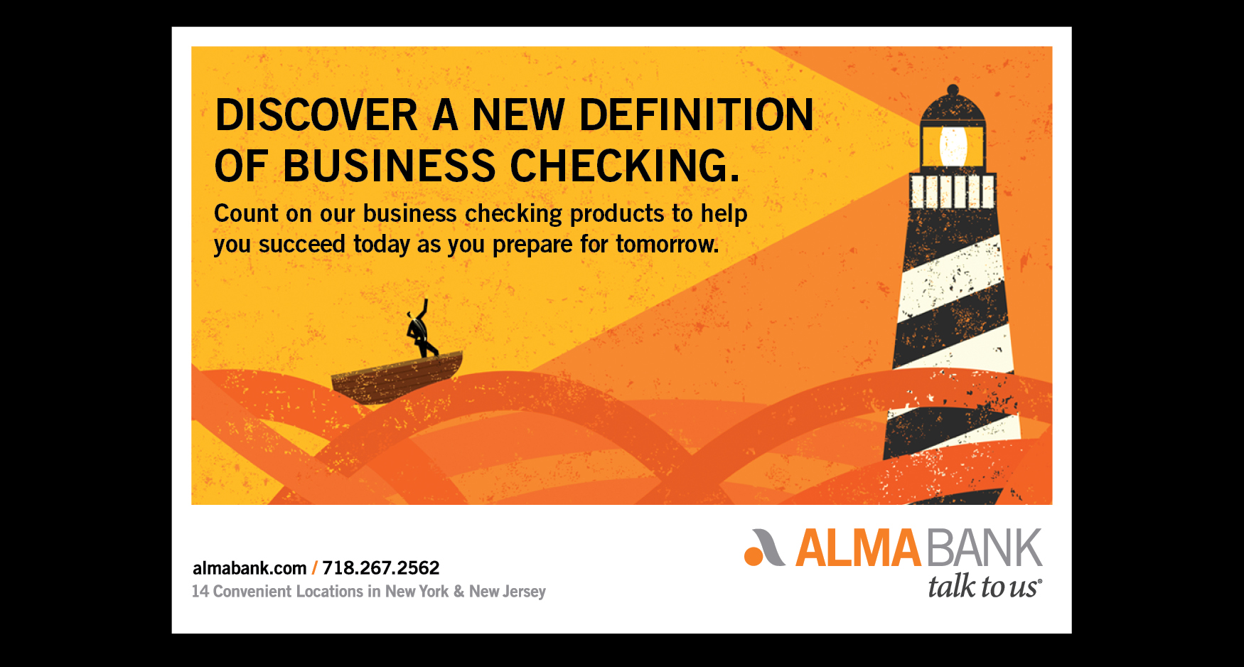 Alma Slide 3 - ALMA BANK - BUSINESS CHECKING PROMOTION