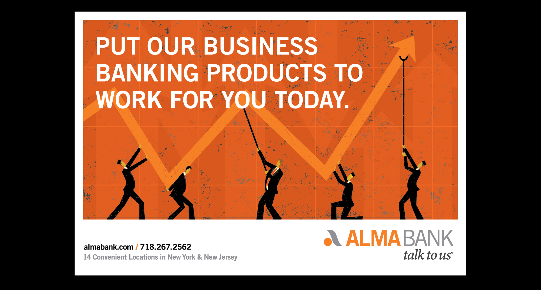 Alma Slide 4 - ALMA BANK - BUSINESS BANKING PROMOTION