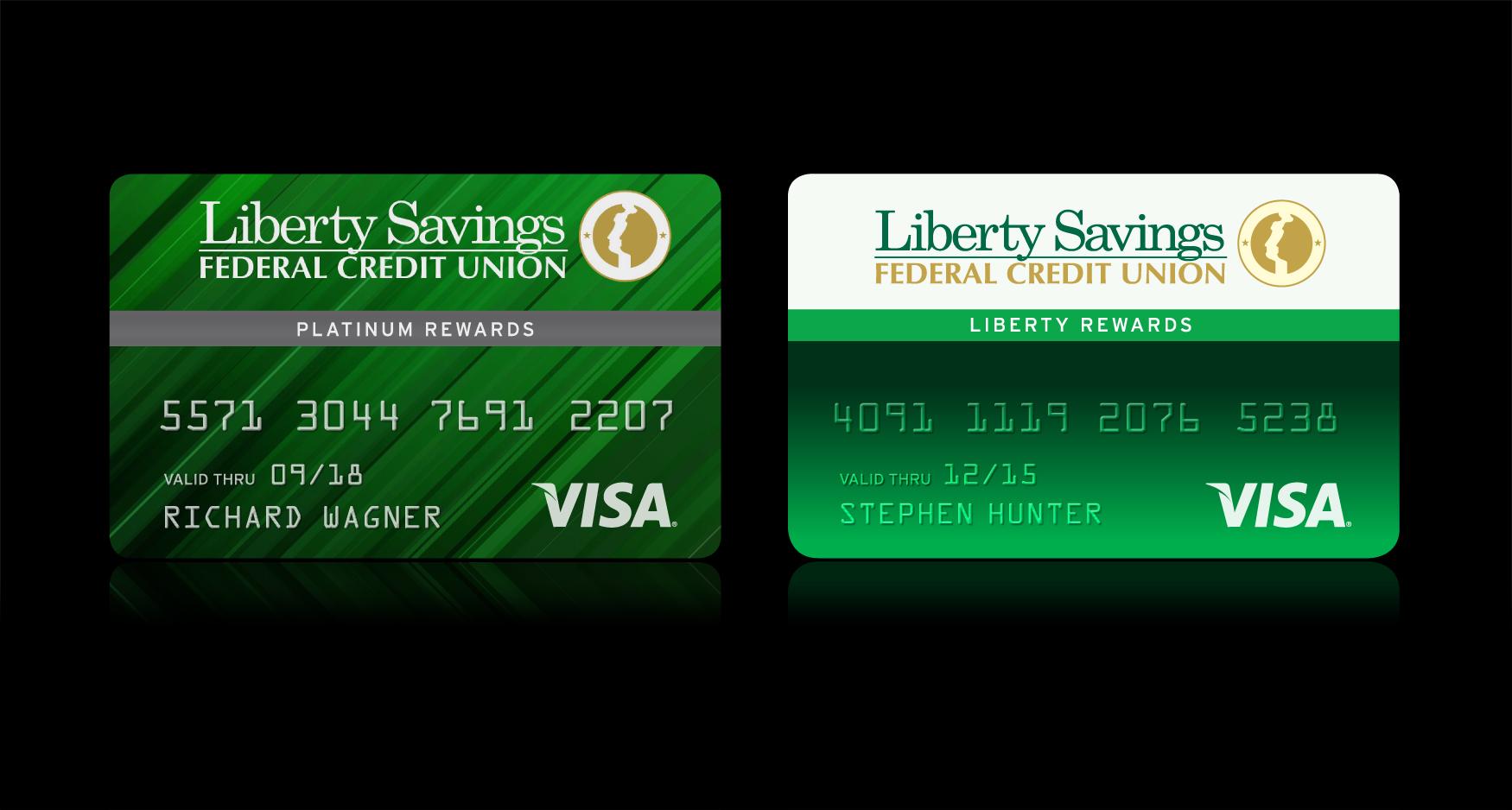 Liberty Savings Credit Cards - LIBERTY SAVINGS – REWARDS CARDS