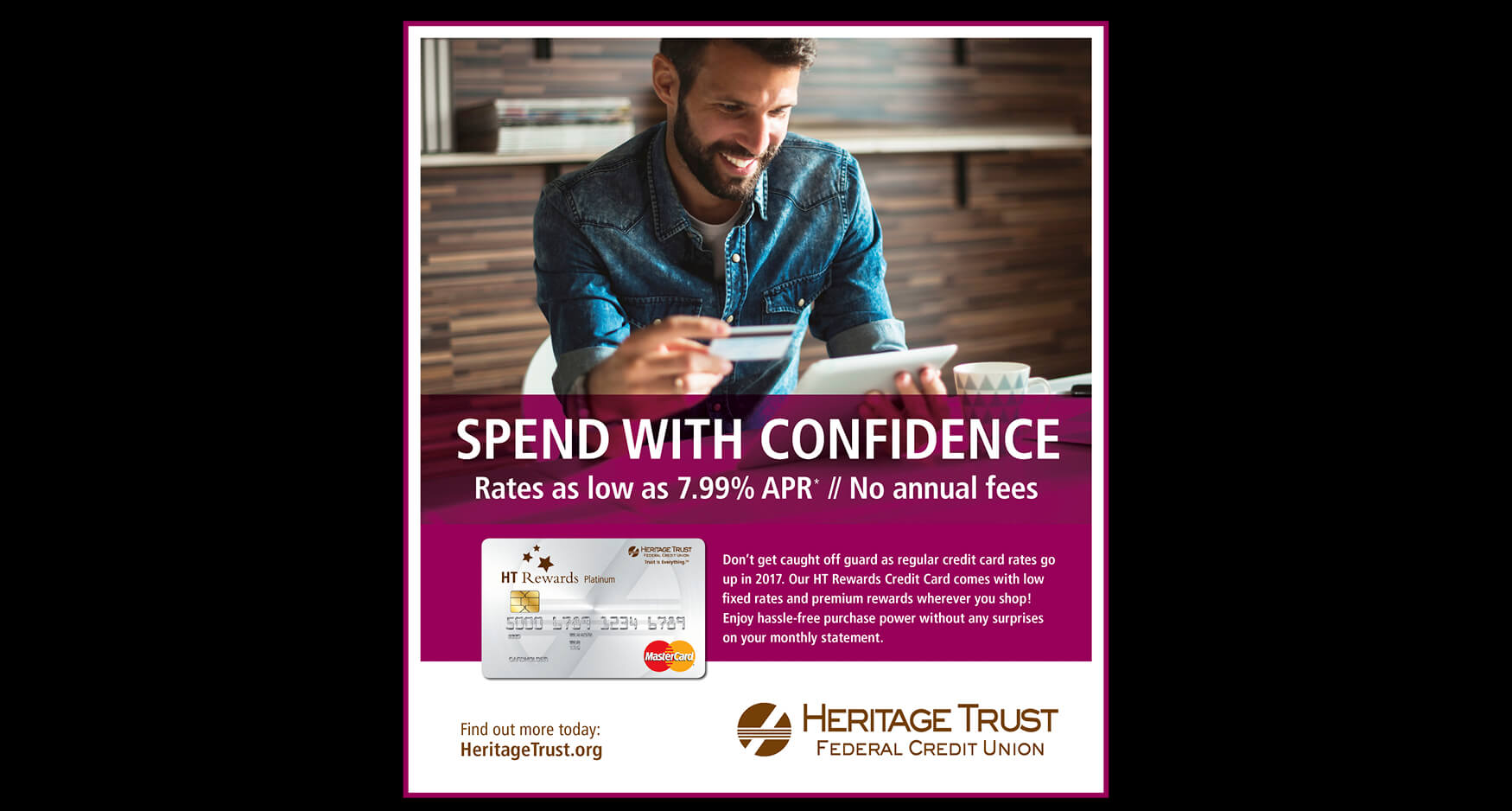 4 Print - Heritage Trust Federal Credit Union - Consumer Advertising