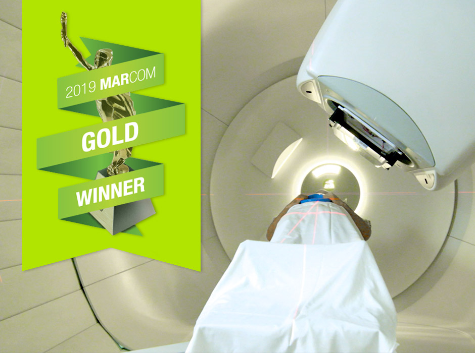 ProCure Proton Therapy Machine With MARCOM Gold Award
