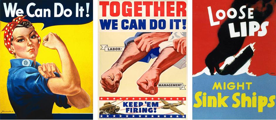 Three Iconic American World War II Posters
